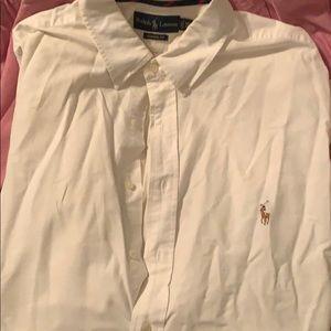 100% cotton Ralph Lauren button up